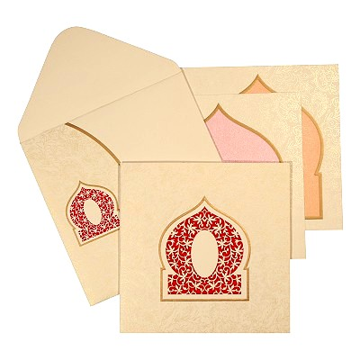 Designer Wedding Cards - D-1609