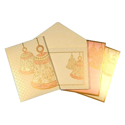 Designer Wedding Cards - D-1616