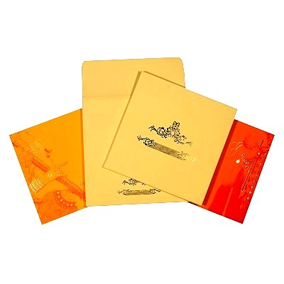 Designer Wedding Cards - D-1617