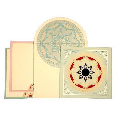 Designer Wedding Cards - D-1619