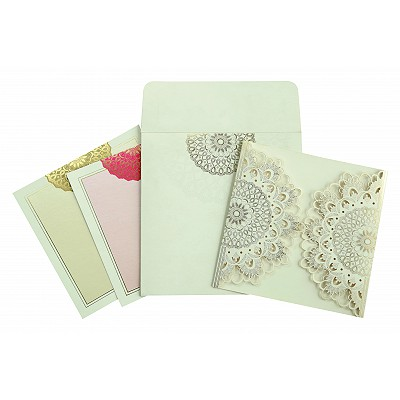 Designer Wedding Cards - D-1621