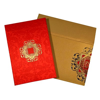 Designer Wedding Cards - D-1624
