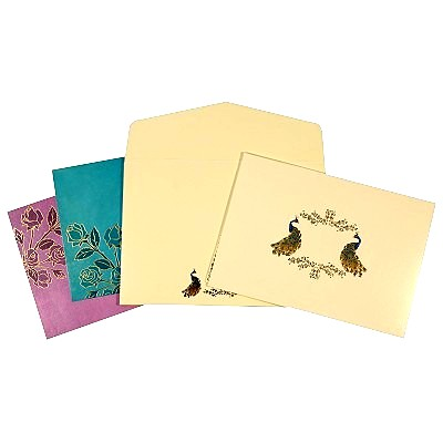 Designer Wedding Cards - D-1625
