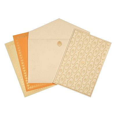 Designer Wedding Cards - D-1629