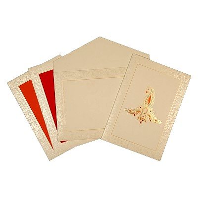 Designer Wedding Cards - D-1630