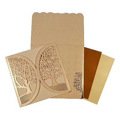Designer Wedding Cards - D-1632