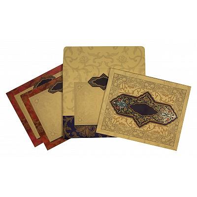 Designer Wedding Cards - D-1641