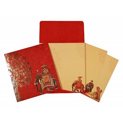 Designer Wedding Cards - D-1669