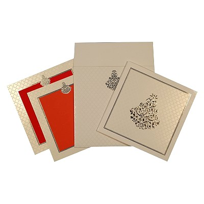 Designer Wedding Cards - D-1673