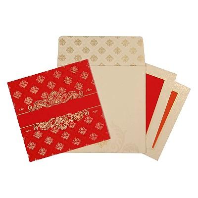 Designer Wedding Cards - D-1674