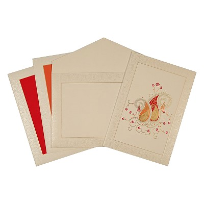 Designer Wedding Cards - D-1680