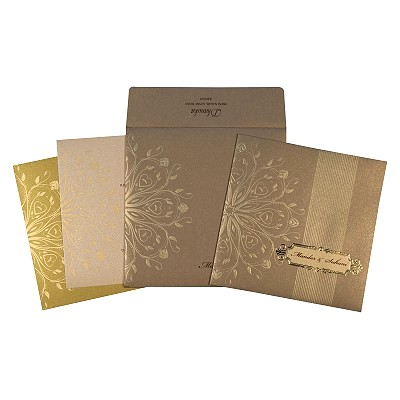 Designer Wedding Cards - D-1688
