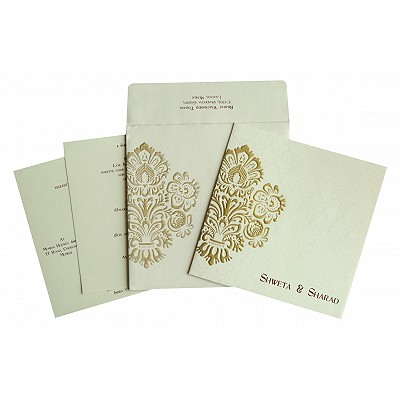 Designer Wedding Cards - D-1697