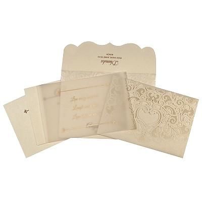 Designer Wedding Cards - D-1700