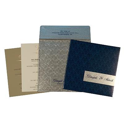 Designer Wedding Cards - D-1702