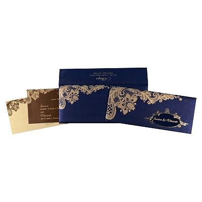 Designer Wedding Cards - D-1707