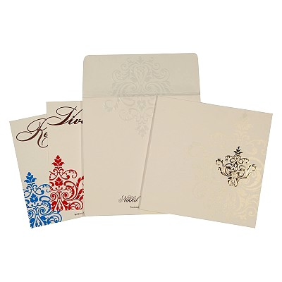 Designer Wedding Cards - D-1710
