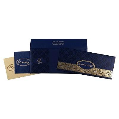 Designer Wedding Cards - D-1718