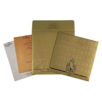 Designer Wedding Cards - D-1736