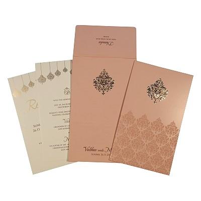 Designer Wedding Cards - D-1746