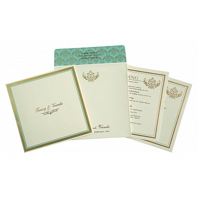 Designer Wedding Cards - D-1749