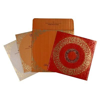 Designer Wedding Cards - D-1751