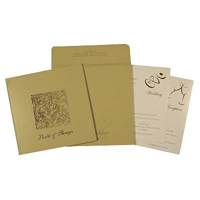 Designer Wedding Cards - D-1761