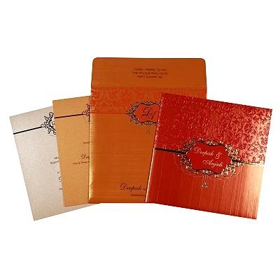 Designer Wedding Cards - D-1764