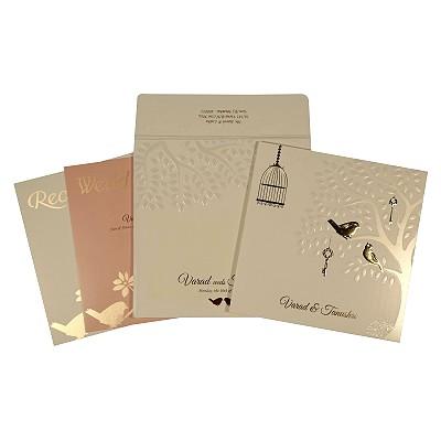 Designer Wedding Cards - D-1765