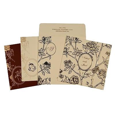 Designer Wedding Cards - D-1766