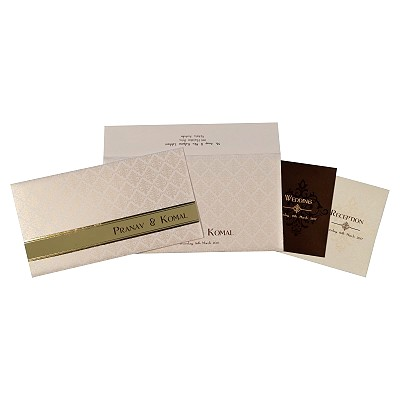 Designer Wedding Cards - D-1768