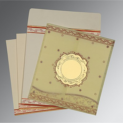 Designer Wedding Cards - D-8202E