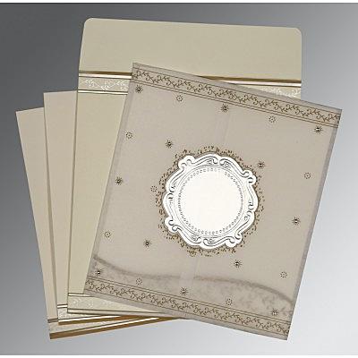 Designer Wedding Cards - D-8202O