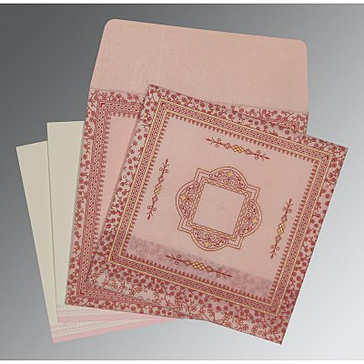 Designer Wedding Cards - D-8205J
