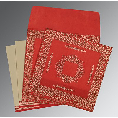 Designer Wedding Cards - D-8205R