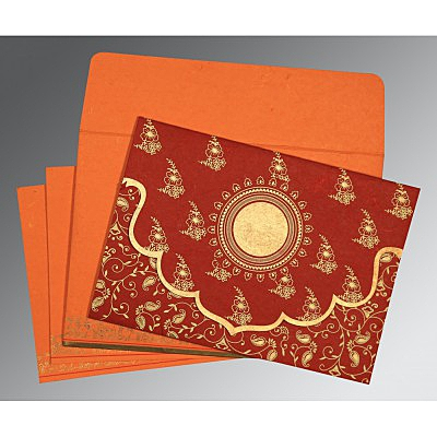 Designer Wedding Cards - D-8207B