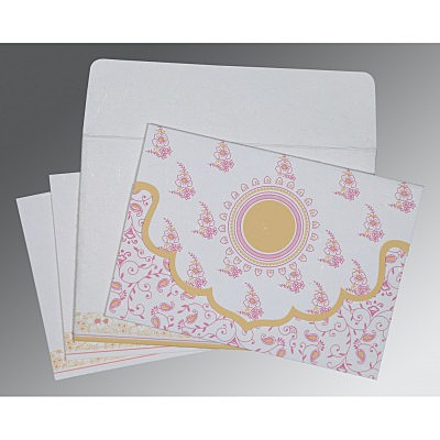 Designer Wedding Cards - D-8207I