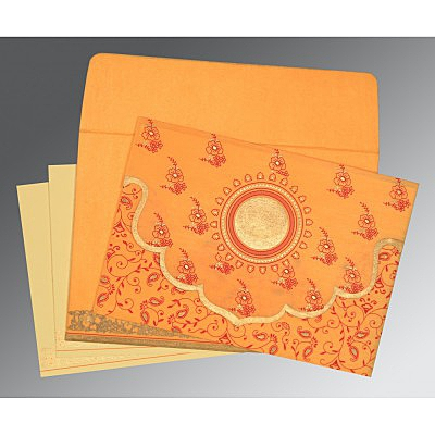Designer Wedding Cards - D-8207J