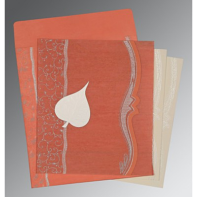 Designer Wedding Cards - D-8210M
