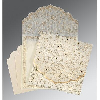Designer Wedding Cards - D-8211G