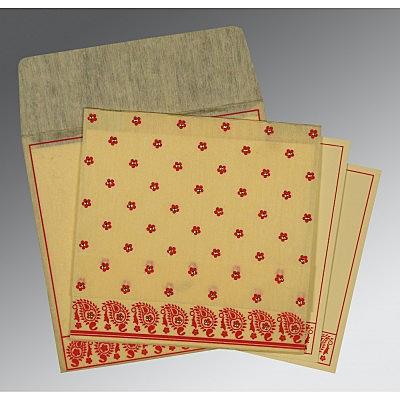 Designer Wedding Cards - D-8218B