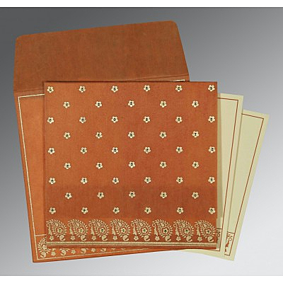Designer Wedding Cards - D-8218C