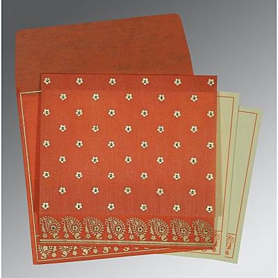 Designer Wedding Cards - D-8218E