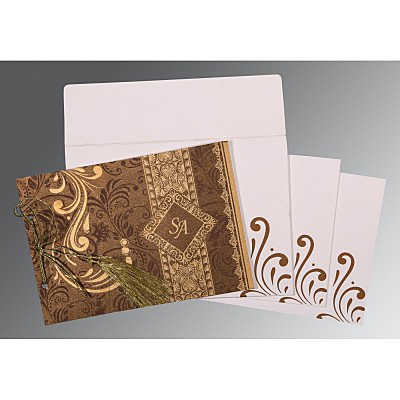 Designer Wedding Cards - D-8223O