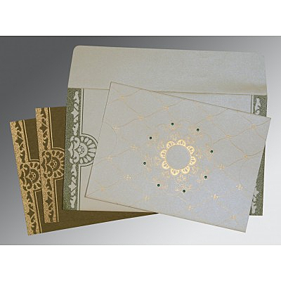 Designer Wedding Cards - D-8227F