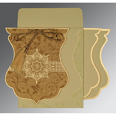 Designer Wedding Cards - D-8229O