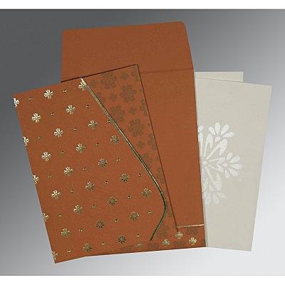 Designer Wedding Cards - D-8237J