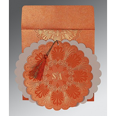 Designer Wedding Cards - D-8238F