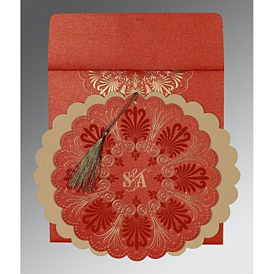 Designer Wedding Cards - D-8238I