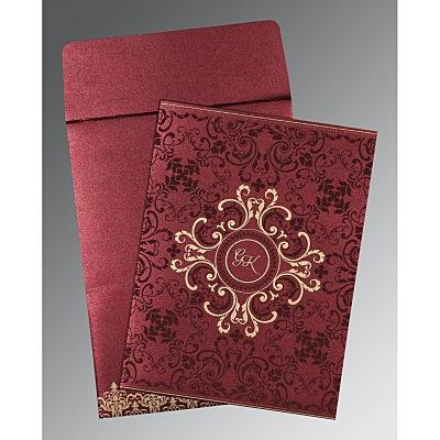 Designer Wedding Cards - D-8244H